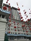 Odkrywa Hong Kong's Żywą historię Z TramOramic wycieczką turysyczną obraz royalty free