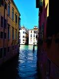 Odkrywa Wenecja miasto, Włochy Facsynacja, jedyność i magia, obraz stock