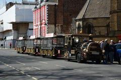 Odkrywczość pociągu przejażdżka Zdjęcie Royalty Free