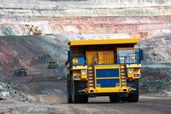 Odkrywkowa kopalnia obrazy royalty free
