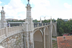 The odl viaduct, Teruel,Spain Stock Photography