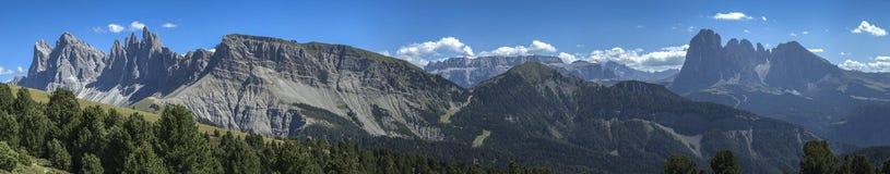The Odle, Dolomites - Italy Royalty Free Stock Photo