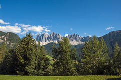 Odle,funes valley,south tyrol,Italy Royalty Free Stock Image