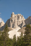 Odle,funes valley,south tyrol,Italy. A great view of italian dolomites Royalty Free Stock Image