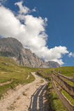 Odle,Gardena valley,south tyrol,Italy Stock Images