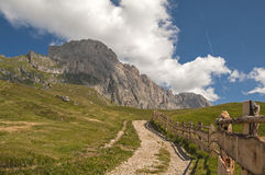 Odle,Gardena valley,south tyrol,Italy Royalty Free Stock Photography