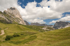 Odle,Gardena valley,south tyrol,Italy Stock Image
