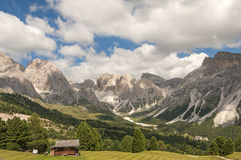 Odle,Gardena valley,south tyrol,Italy Royalty Free Stock Photo