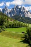 Odle-Geisler Dolomites massif Royalty Free Stock Images