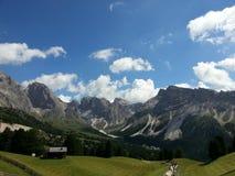 Odle group landscape in Dolomiti Stock Images