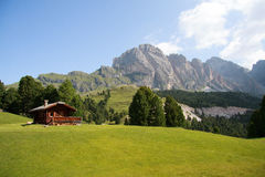 The Odle - Val Gardena Royalty Free Stock Image