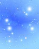 Odległy gwiazd połyskiwać ilustracja wektor