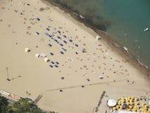 odległy na plaży Obraz Royalty Free