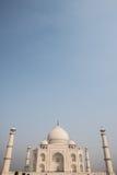Odległa scena Taj Mahal Zdjęcie Stock