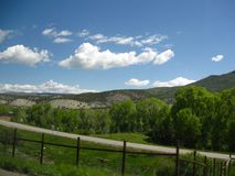 Odległa Skalistej góry sceneria Obraz Royalty Free
