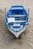 Odludna łódź Obraz Stock