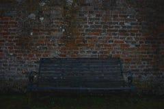 Odludna ławka Zdjęcia Stock
