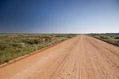 odludzie australijska droga Zdjęcie Royalty Free