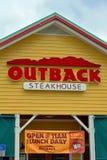 Odludzie steakhouse Zdjęcia Stock