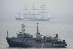 Odmagnetyzowanie statek Fotografia Royalty Free