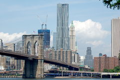 odmieniania Manhattan linia horyzontu Fotografia Stock