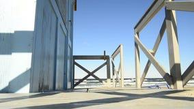 Odmienianie pokój przy plażą morze bałtyckie zbiory wideo