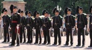 Odmienianie strażnik, Oslo Obraz Royalty Free