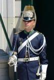 Odmienianie strażnik w Lisbon, Portugalia obrazy royalty free