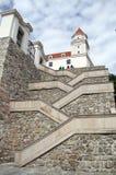 odnawiący Bratislava catsle Zdjęcie Stock