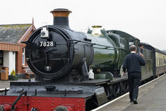 Odney Manor Steam Train Royalty Free Stock Photos