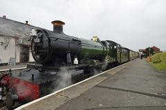 Odney Manor Steam Train Royalty Free Stock Images