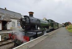 Odney Manor Steam Train Stock Image