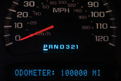 Odometer 100k Stock Images