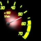 Odometer Stock Image