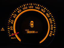 Odometer Royalty Free Stock Photo