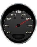 odometer 2013 Arkivbild
