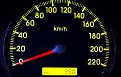 Odometer Royalty-vrije Stock Foto