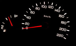 Odometer Royalty Free Stock Photography