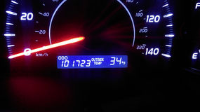 Odometer Stock Photos
