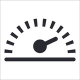 Odometer icon Royalty Free Stock Images