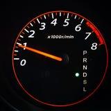 Odometer,tahometer Royalty Free Stock Photo