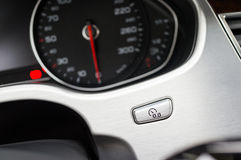 Odometer to zero button Stock Images