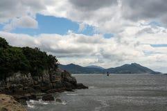 Odongdo coast Royalty Free Stock Photo