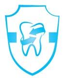 Odontología del símbolo ilustración del vector