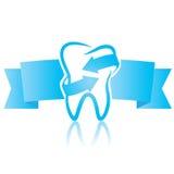 Odontología del símbolo Foto de archivo libre de regalías