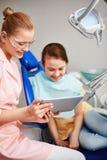 Odontologia moderna imagens de stock