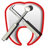 Odontologie illustration libre de droits