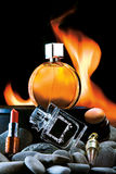 Odor of Flame. Stock Images