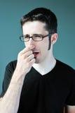 Odore difettoso fotografia stock