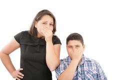 Odori difettosi nell'aria Fotografia Stock